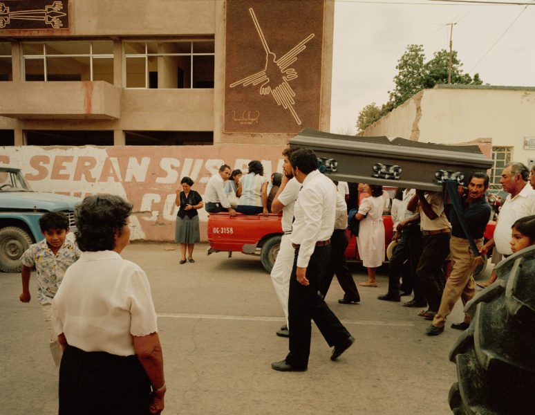 Procession Past Municipal Building, 1988