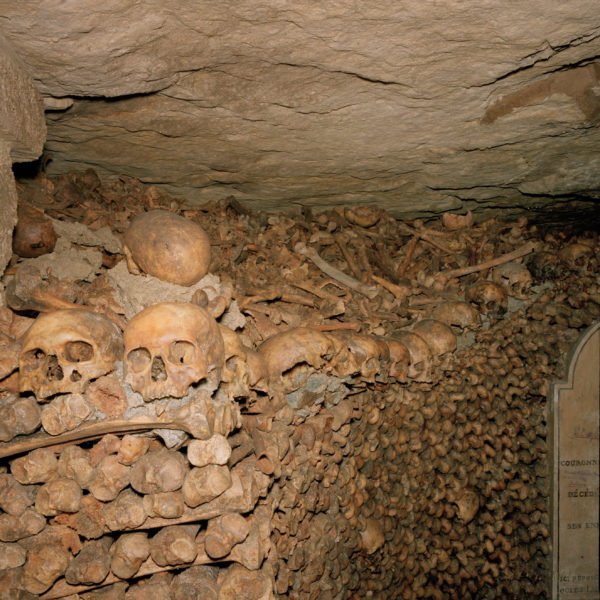 Paris Catacombs, France, 1992